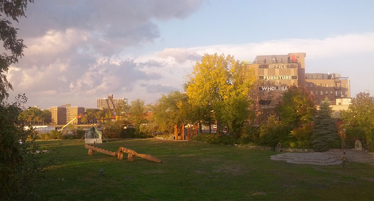 Socrates Sculpture Park in Long Island City, New York. Photo: Catherine Favorite