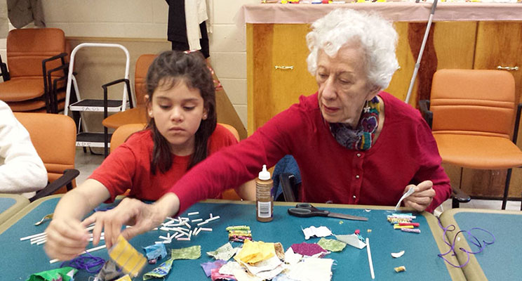 NICE program participants Photo: Courtesy of Queens Community House